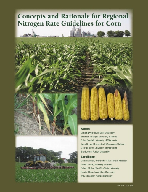 Regional Corn N Rate Publication